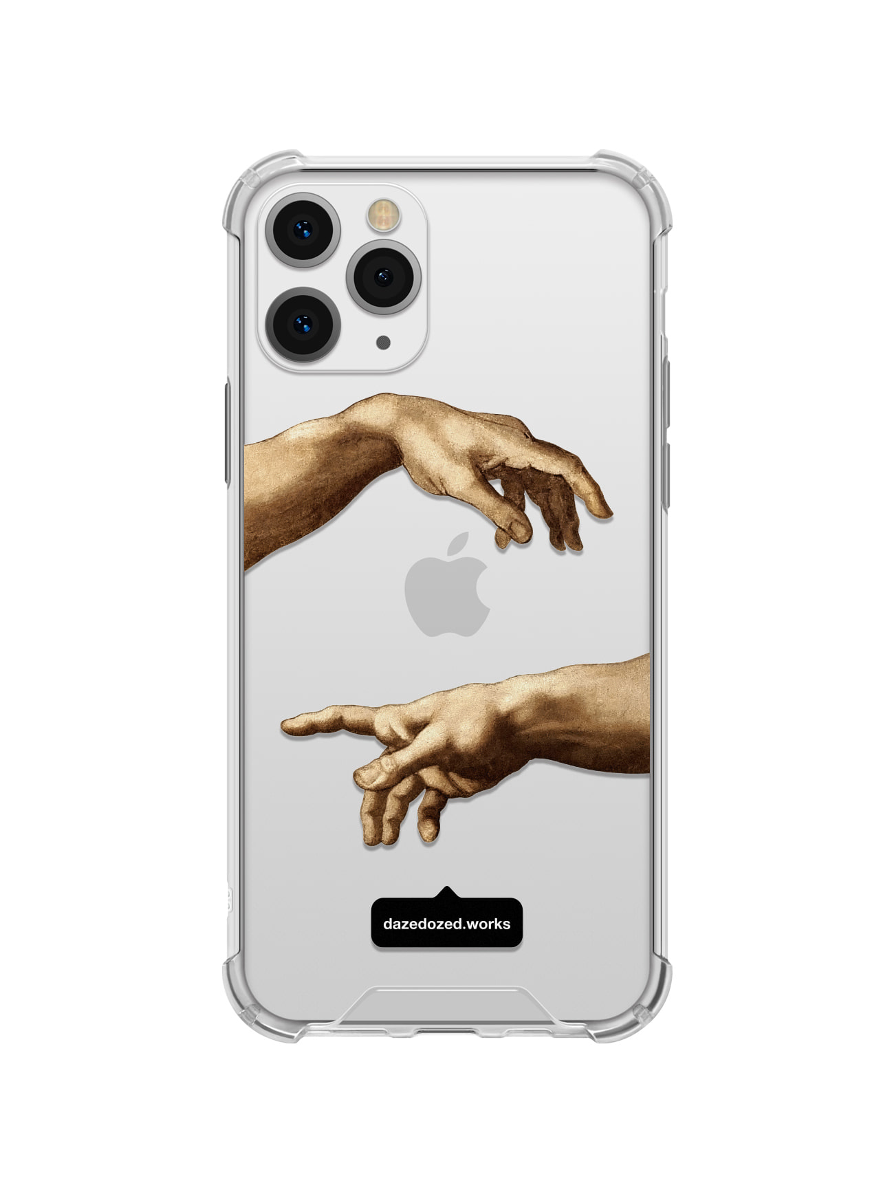 Michelangelo, Hands Detail Phone Case, 세로 타입