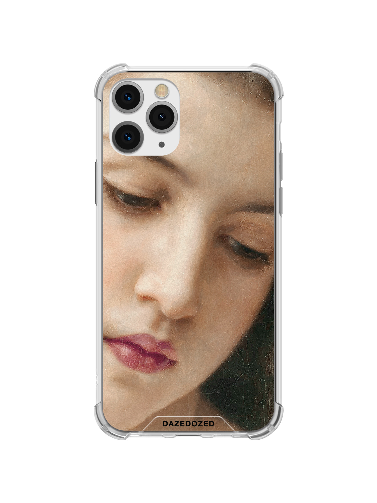 Head Of A Young Girl, Face Detail Phone Case