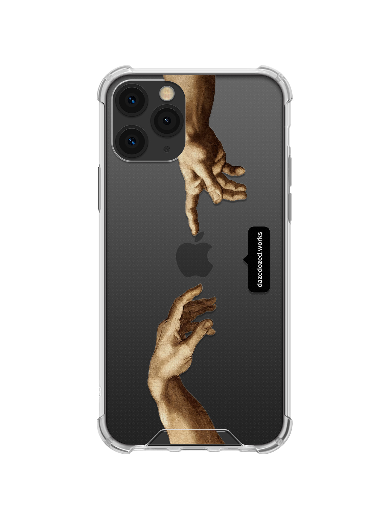 Michelangelo, Hands Detail Phone Case, 가로 타입