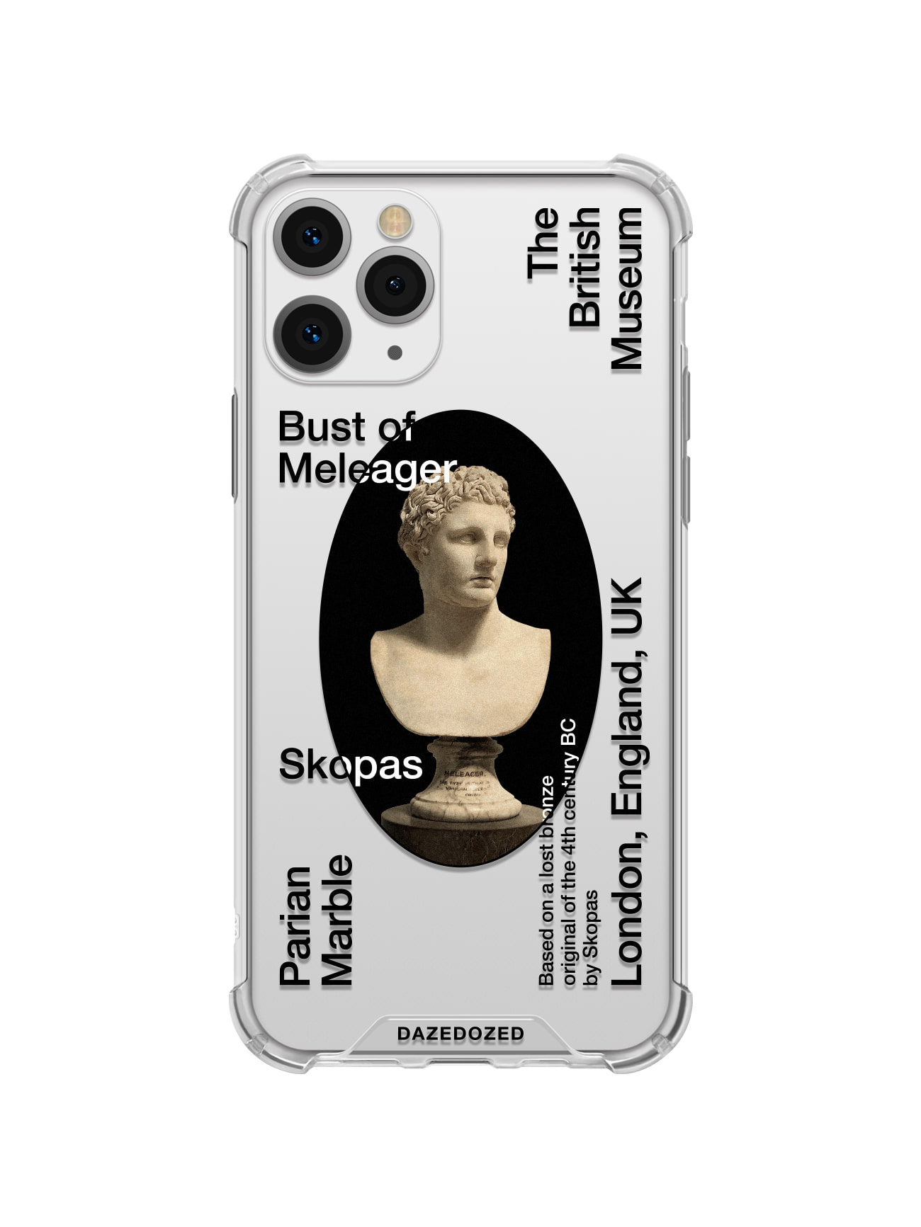 Meleager Phone Case, Black Font